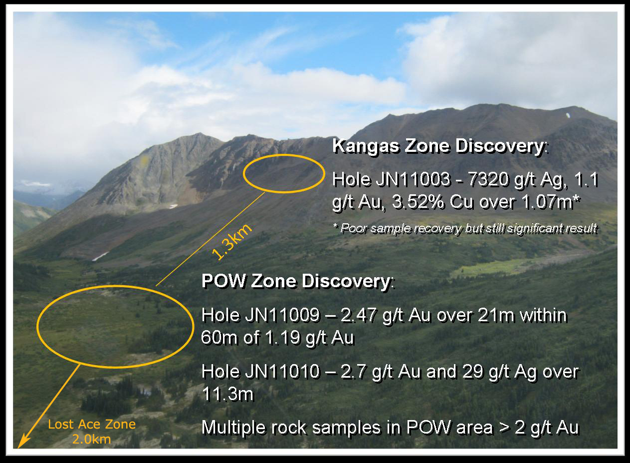 Justin Project POW and Kangas Zones